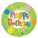 "Glee Birthday 18"" mylar balloon"
