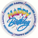 8 HAPPY BIRTHDAY II 7'' PLATES