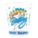 8 HAPPY BIRTHDAY II 9 OZ. CUPS