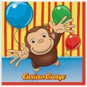Curious George Luncheon Napkins
