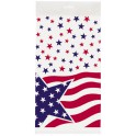 AMERICAN FLAG TABLECOVER PLSTC