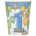 First Birthday Balloons cups