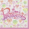 Princess Diva beverage napkins