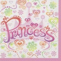 Princess Diva lunch napkins