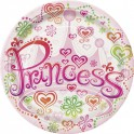 Princess Diva luncheon plates