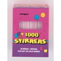 1000 STIRRER STRAWS BOX