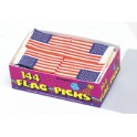 144 U.S. FLAG PICKS BOX