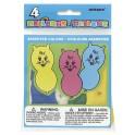 4 ANIMAL BALLOONS