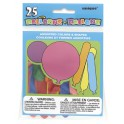 25 CT ASSORTED BALLOONS