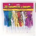 30 FRINGED SQUAWKERS