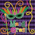 16 MARDI GRAS PARTY LUN NAP