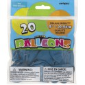 20 9'' TEAL BALLOONS