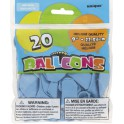 "20 9"" BABY BLUE BALLOONS"