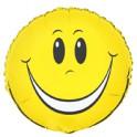 18'' BULK HAPPY FACE FOIL BLLN