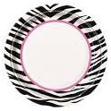 zebra passion plates