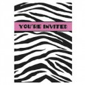 zebra passion invites