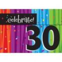 30th milestone invites