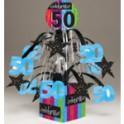 50th milestone centerpiece