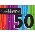 50th milestone invites