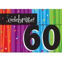 60th milestone invites