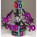 70th milestone centerpiece