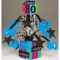 80th milestone centerpiece
