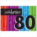 80th milestone invites
