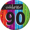 90th milestone plates