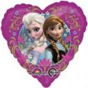 Frozen 18 inch heart shaped