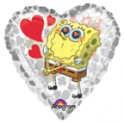 Spongebob Squarepants heart shaped