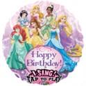 Disney Princesses 22 inch singing mylar