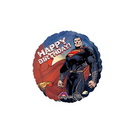 Superman 18 inch happy birthday mylar