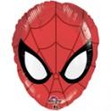 Spiderman 18 inch face mylar