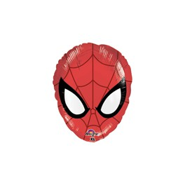 Spiderman 18 inch face mylar