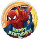 Spiderman 18 inch happy birthday mylar