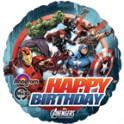 Avengers 18 inch happy birthday