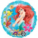 Little Mermaid 18 inch mylar