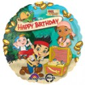 Jake & the Neverland Pirates Happy Birthday 18""