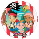 Jake & the Neverland Pirates Red & White Stripe 18""