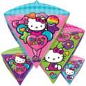 Hello Kitty diamond shape balloon