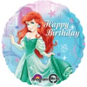 "Little Mermaid Happy Birthday in gown 18"" mylar"