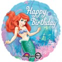 "Little Mermaid  Happy Birthday 18"" mylar"