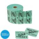 50/50 Double Roll Raffle Tickets