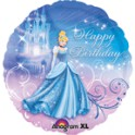 "Cinderella 18"" Happy Birthday Mylar"