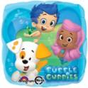 "Bubble Guppies 18"" Square Mylar"