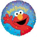"""Sesame Street - Elmo 18"""" Happy Birthday Mylar"""