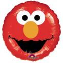 "Sesame Street - Elmo 18"" Face Mylar"