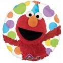 "Sesame Street - Elmo 18"" Dots Mylar"