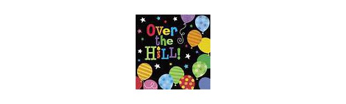 Over the Hill Theme Party
