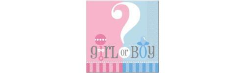 Gender Reveal Pattern